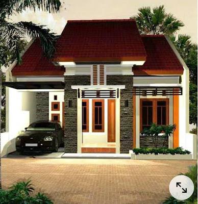 8 Contoh Desain Dinding Rumah Minimalis Tampak Depan
