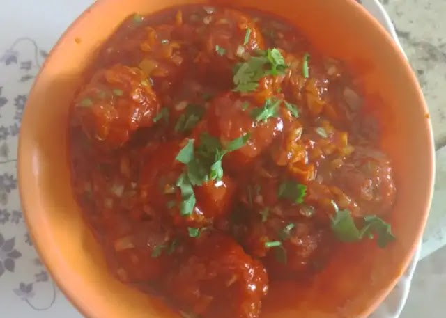 How to make Manchurian