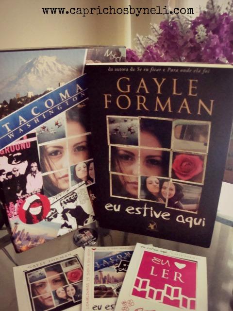 Eu estive aqui, Gayle Forman, Editora Arqueiro, Caprichos by Neli
