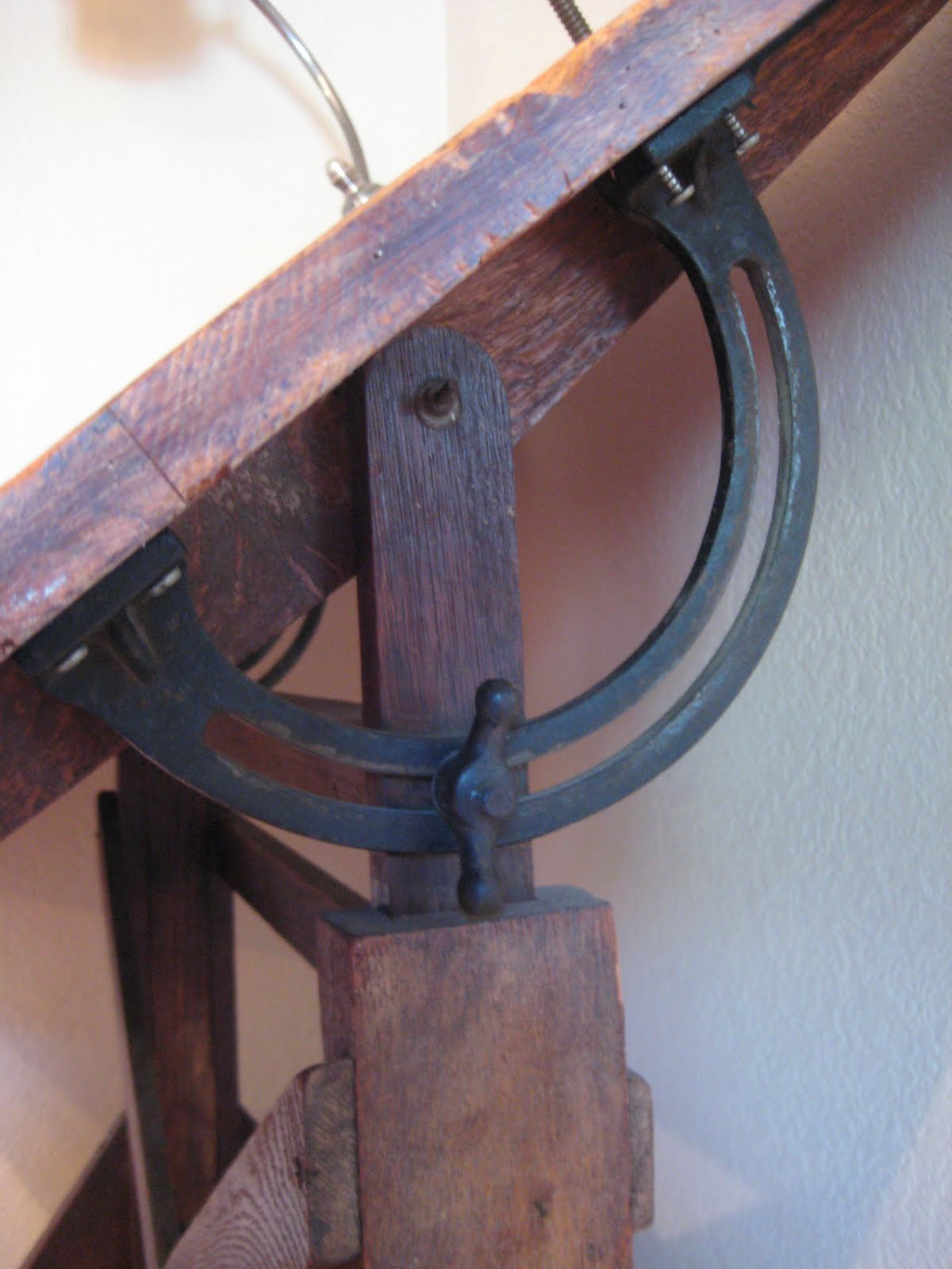 Cast Iron Drafting Table Hardware