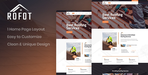 Renovation Website Template