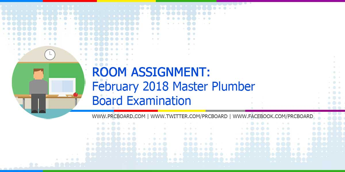 Master plumber room assignment