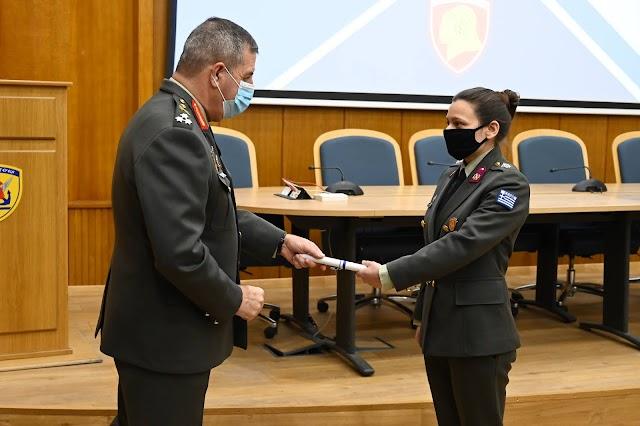 Ο Α/ΓΕΣ στην αποφοίτηση Αξιωματικών της ΣΤΕΑΜΧ (8 ΦΩΤΟ)