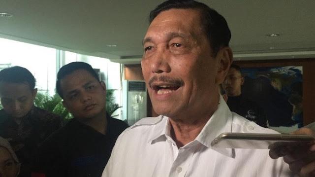 Sebut Ahok Tak Marah soal Maruf Amin jadi Cawapres Jokowi, Luhut: Dia Minta Ikut Kampanye
