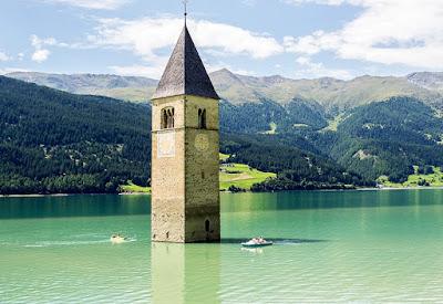 Gite fuori porta e vacanze in Trentino Alto Adige - Lago di Resia