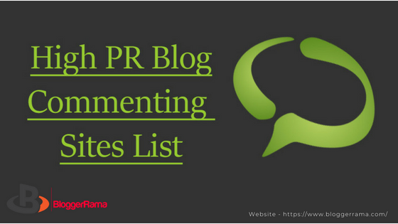 Top Best Free Instant Approval High PR Dofollow Blog Commenting Sites New Updated List