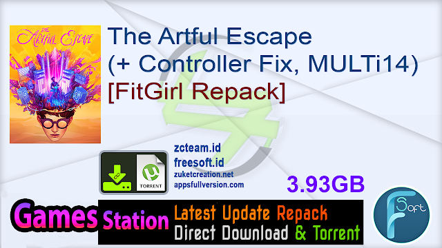 The Artful Escape (+ Controller Fix, MULTi14) [FitGirl Repack]