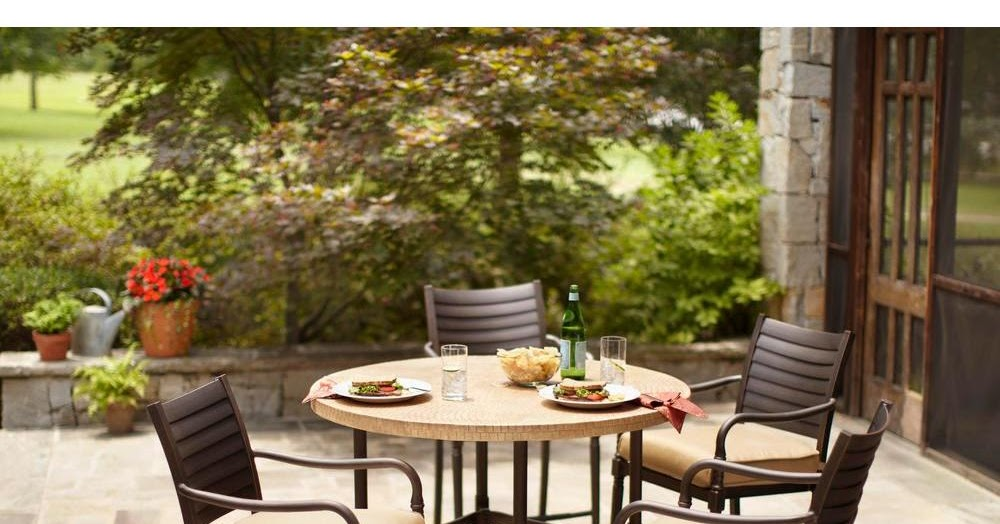 Patio Dining Clearance Hampton Bay 5 Pc Patio Dining Set