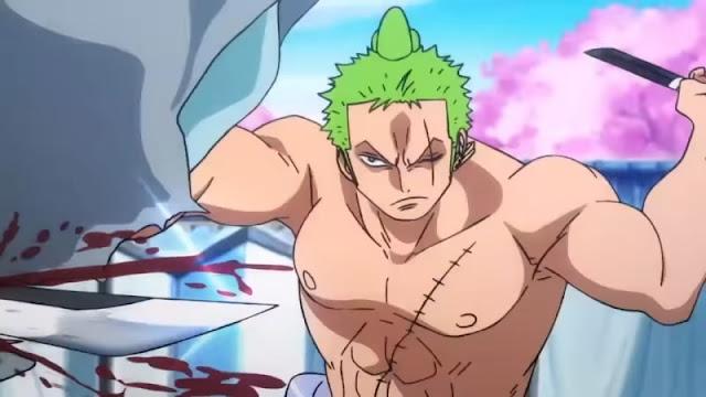 One Piece 892 Sub Indonesia: Negara Wano! Ke Negeri Samurai Tempat Bunga Sakura Bermekaran