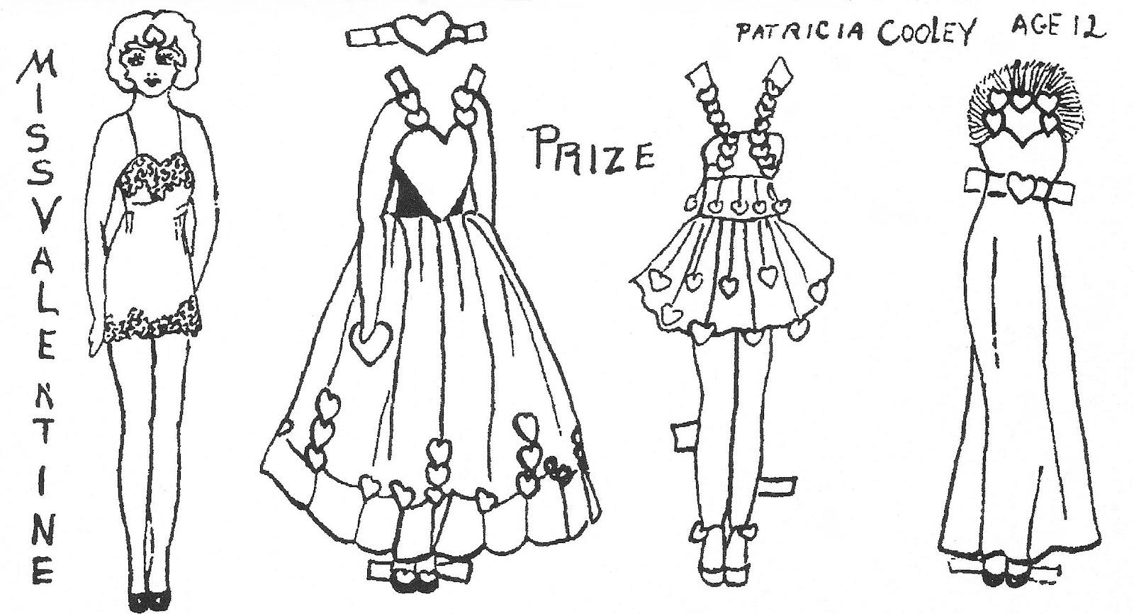 Mostly Paper Dolls: Myrtle, Daphne & Miss Valentine
