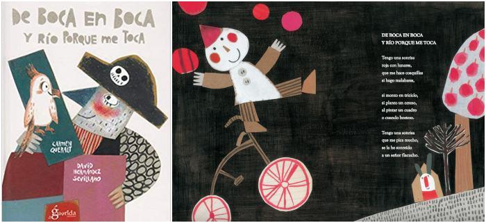 mejores libros de poesía infantil para niños, de boca en boca y río porque me toca