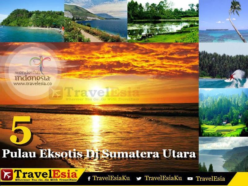 5 Pulau Eksotis Di Sumatera Utara