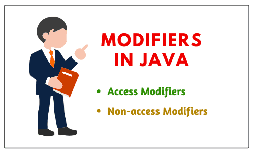 Types of modifiers in java