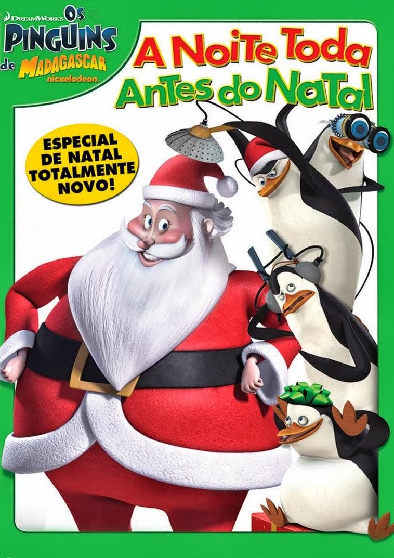 Os Pinguins de Madagascar: A Noite Toda Antes do Natal – Dublado (2011)