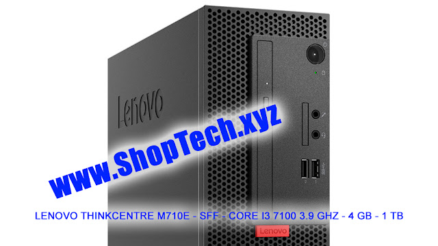 LENOVO THINKCENTRE M710E - SFF - CORE I3 7100 3.9 GHZ - 4 GB - 1 TB - RJO Ventures, Inc. - #ShopTechxyz