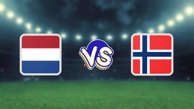 مباراة هولندا ضد النرويج