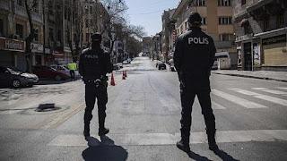 لإحتفالهم بعيد العمال رغم الحظر..الشرطة التركية تعتقل 42 شخص في إسطنبول وأنقرة