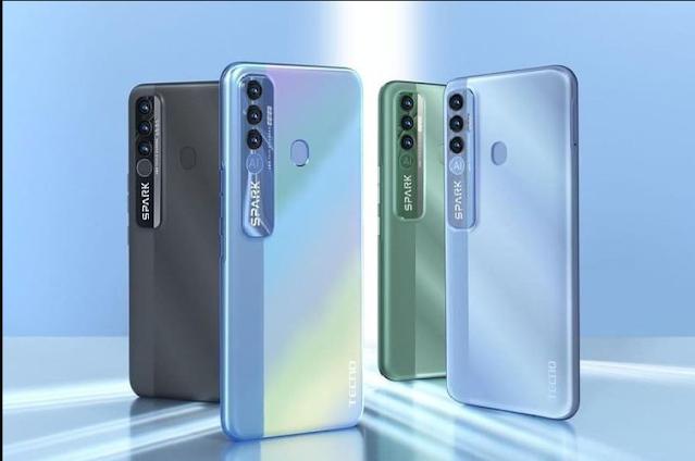 Tecno Spark 7 Pro, Smartphone 1 Jutaan dengan Kamera 48 MP