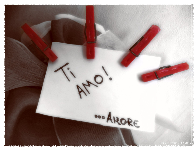 ti amo in a - photo #48