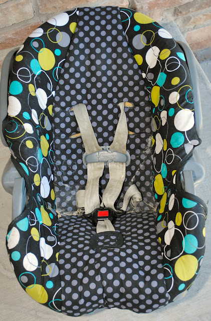 Infant Car Seat Cover Pattern