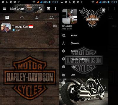 BBM Mod Motor Harley Davidson V2.13.0.26 apk Clone
