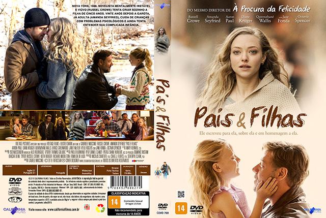 Pais e Filhas (2016) DVD-R Oficial