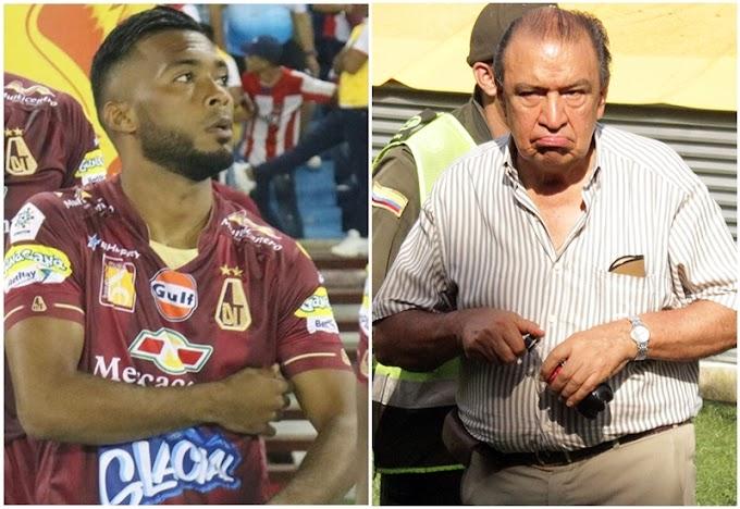 Negociaciones por continuidad de 'Cariaco' González en DEPORTES TOLIMA están enredadas, según Camargo