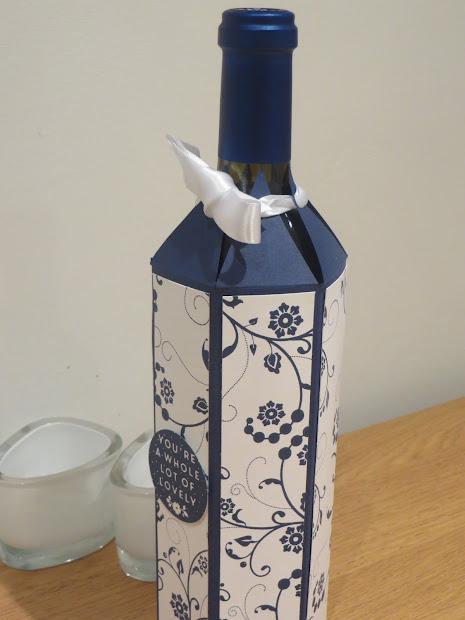 Craftycarolinecreates Wine Bottle Box Tutorial