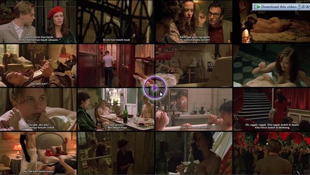 Screenshots Download Film Gratis The Dreamers (2003) BluRay 480p MP4 Subtitle Indonesia 3gp
