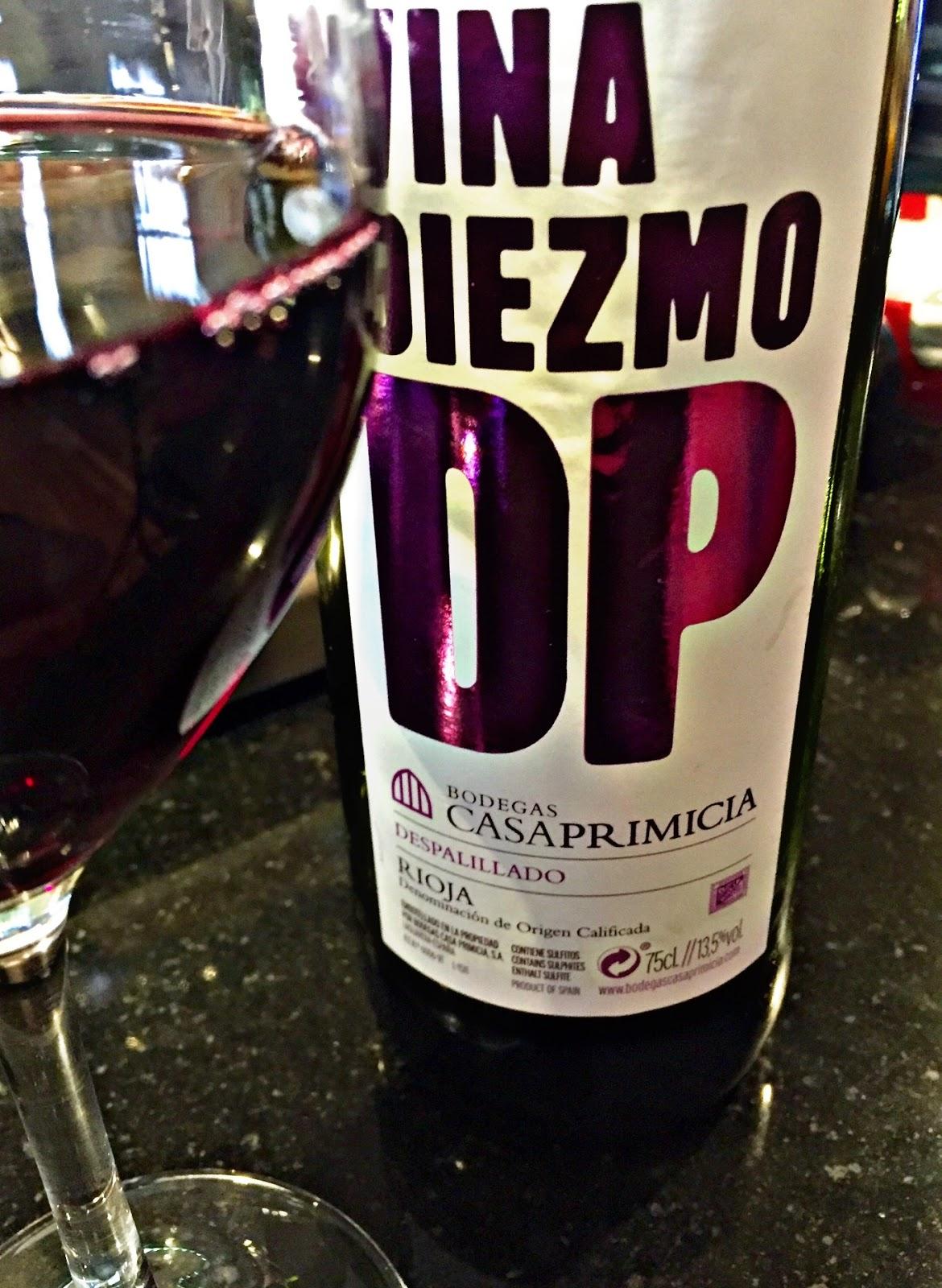 El alma del vino bodegas casa primicia vi a diezmo tinto joven 2015 - Bodegas casa primicia ...