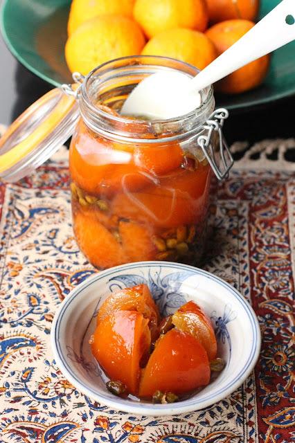 oranges iran recette