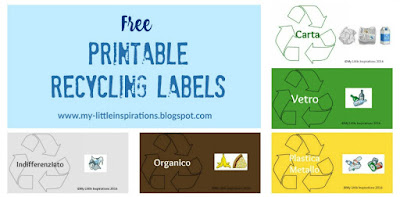 Free Recycling Labels - MLI