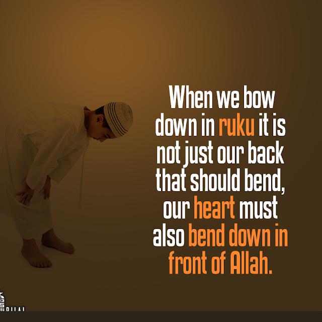 muslim boy doing salah bend to Allah dp