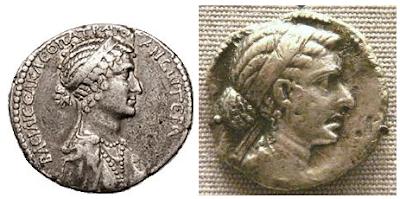 Monedas de Cleopatra