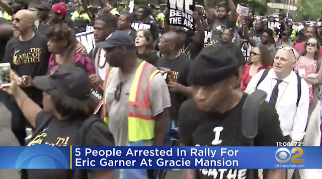 Eric Garner Protesters Arrested Outside Gracie Mansion, De Blasio's Calls For Patience Refused