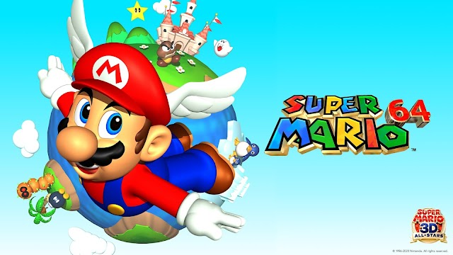 Geçmişte Günümüze Mario: Super Mario 64 (1996)
