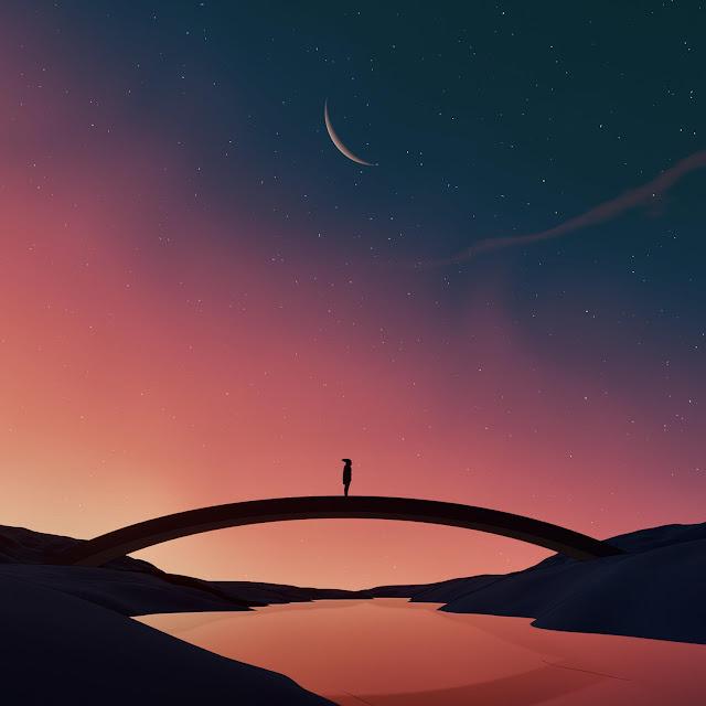 imagenes de soledad chidas al atardecer - cool illustrations - dibujos bonitos