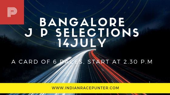 Bangalore Jackpot Selections 14 July