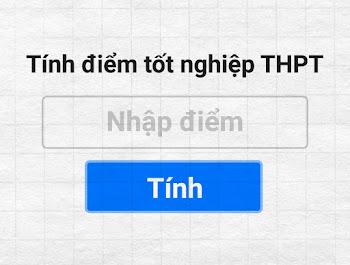 Công cụ tính điểm tốt nghiệp THPT 2021