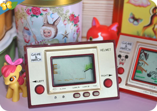jeu électronique Game & Watch Helmet