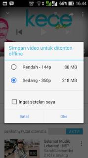 Cara Download Video YouTube di Android secara Legal