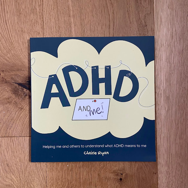 Front cover of book with title text ADHD and me!