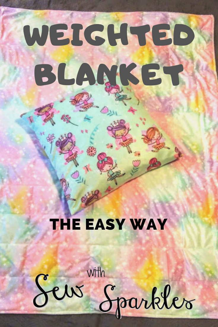 Sew With Sparkles What A Weighted Binky With Minky
