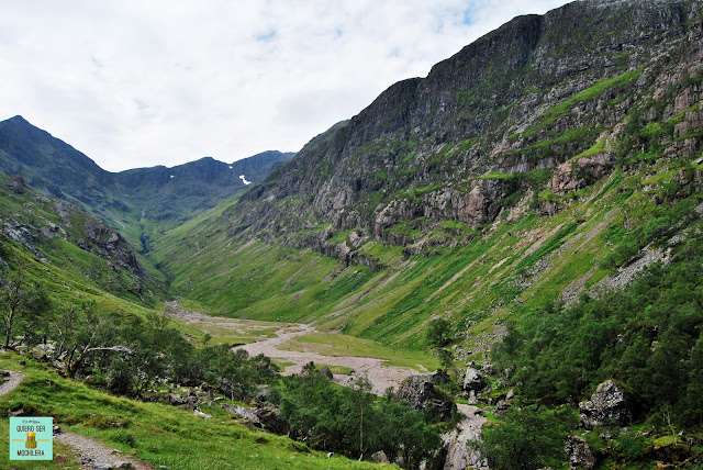 Lost Valley en Glen Coe, Escocia