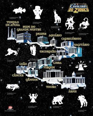 Cavaleiros do Zodiaco - Editora Panini divulga poster do novo Album de figurinhas