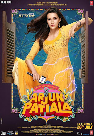Poster Of Hindi Movie Arjun Patiala 2019 Full HD Movie Free Download 720P Watch Online