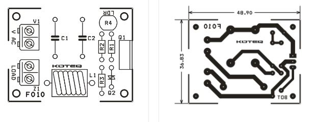 schema electronique contr u00f4leur lamp 220v   dark sensitive