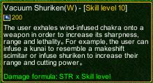 Naruto Castle Defense 6.0 Shurikene detail