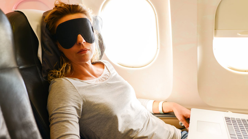 Top Tips to Help You Sleep on a Flight