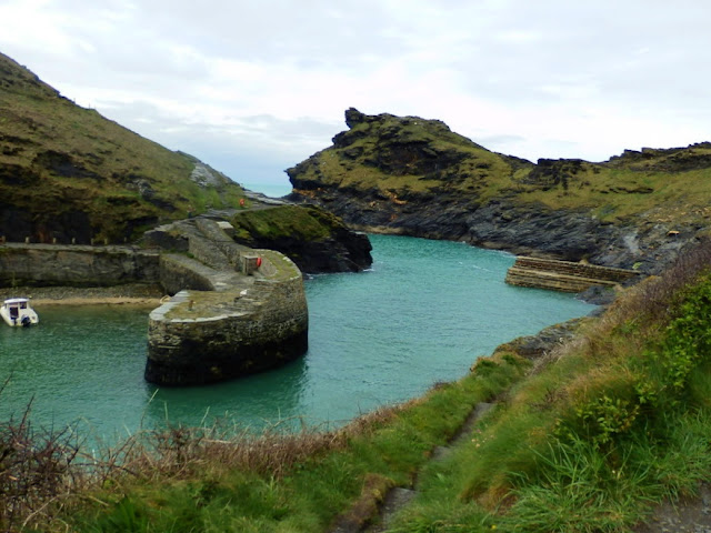 Harbour at Boscastle, Cornwall